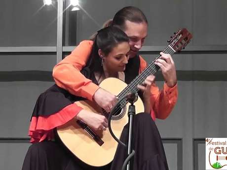 Festival International de Guitare en Béarn : Duo Anabel Montesinos et Marco Tamayo