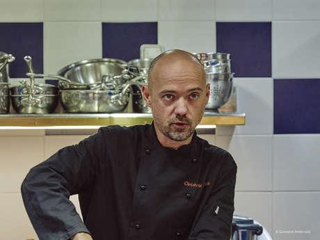 Mets et Mots d'Amou : Trente mille ans de gastronomie racontés en trente minutes, Conférence par Christophe LAVELLE