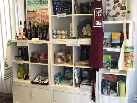 Boutique de l'Office de Tourisme Landes-Chalosse, Hagetmau
