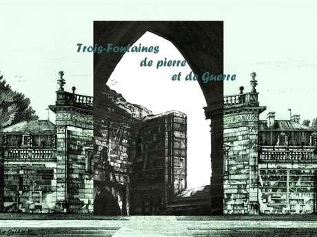 Rencontre Artistique - Trois-Fontaines de Pierre et de Guerre à la Médiathèque