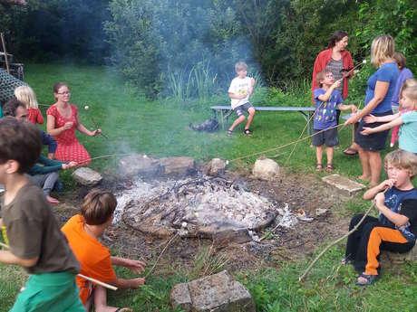 """Camping à la """"Ferme du Mont Moret"""""""