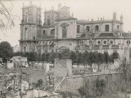 Communication sur les destructions de Vitry-le-Frs et sa Collégiale Notre-Dame en mai-juin 1940