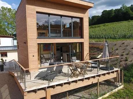 "Location insolite  : cottage ""FIZZY POP"" en champagne"