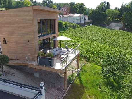"Location insolite en champagne : cottage ""SO BO"""