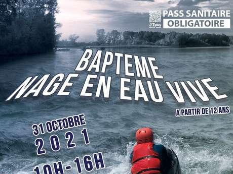 Baptême de Nage en Eau Vive en milieu naturel