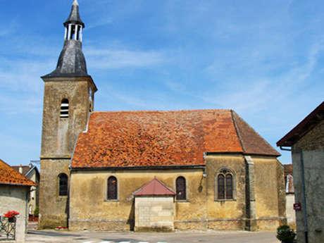Visite de l'église de Roziere