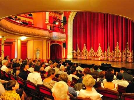 Visite du Théâtre à l'Italienne et Exposition