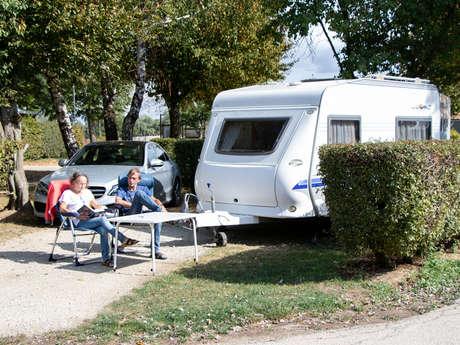 Camping de la Presqu'Île de Champaubert