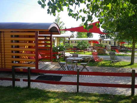 """Camping """"Sur la Route du Der"""" - Location de Mobilhomes - Roulottes"""