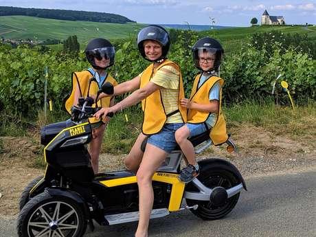 Planet Explora - Jeu d'exploration en scooter électrique