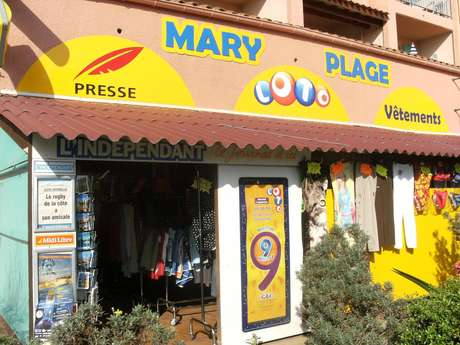 BAZAR PRESSE MARY PLAGE