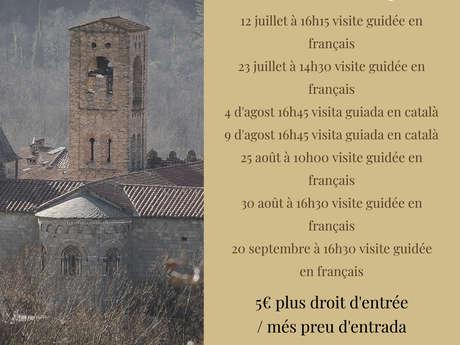 VISITE GUIDÉE DE L'EGLISE STE-MARIE DE CORNEILLA-DE-CONFLENT