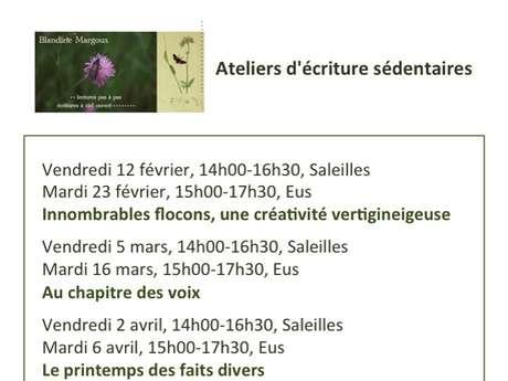 ATELIER D'ECRITURE : UN CHAMP D'ORTIES