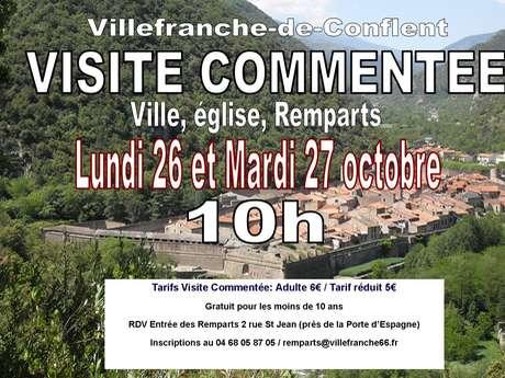 VISITE GUIDÉE DU VILLAGE, DE L'EGLISE ET DES REMPARTS DE VILLEFRANCHE-DE-CONFLENT