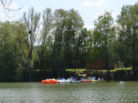 LOCATION DE PEDALOS