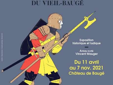 """EXPOSITION """"1421, LA BATAILLE DU VIEIL-BAUGÉ"""" À BAUGÉ"""