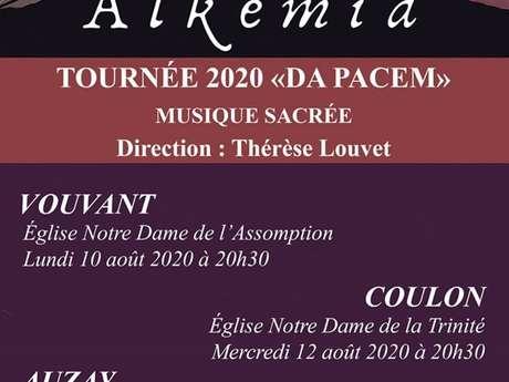 """CONCERT ALKEMIA : TOURNÉE 2020 """"DA PACEM"""" VOUVANT"""