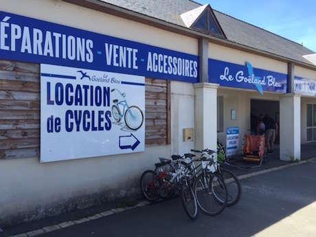 LOCATION DE VELOS - LE GOELAND BLEU