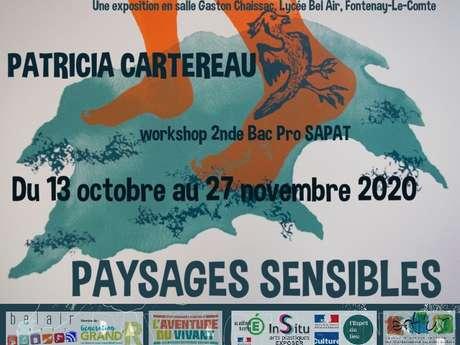 """EXPOSITION """"PAYSAGES SENSIBLES"""" - PATRICIA CARTEREAU"""