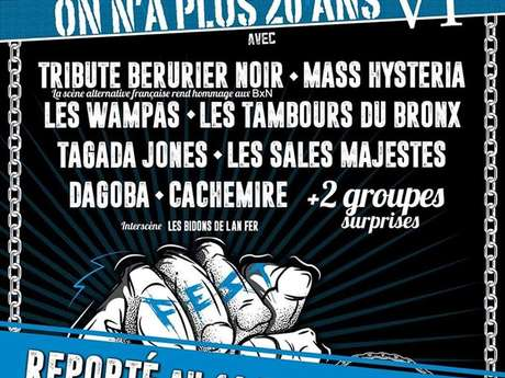 "FESTIVAL ""ON N'A PLUS 20 ANS !"""
