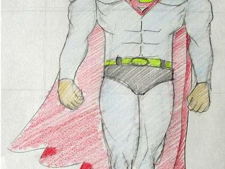 ATELIER SUPERMAN / DESSIN - KALÉIDOSCOPE