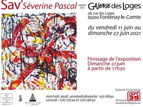 EXPOSITION SAV' SÉVERINE PASCAL
