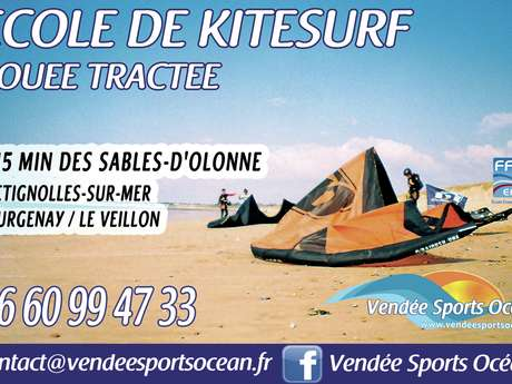 VENDEE SPORTS OCEAN - COURS DE KITE-SURF