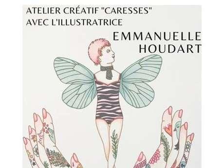 Atelier créatif à la médiathèque avec Emmanuelle Houdart