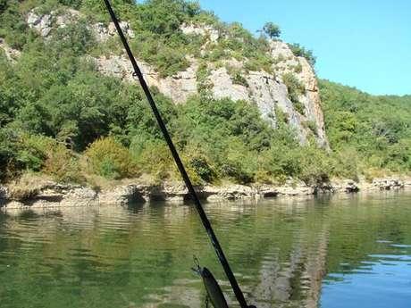 Parcours de Pêche à St Antonin Noble Val