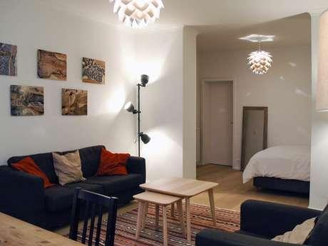 Bonté, studio meublé