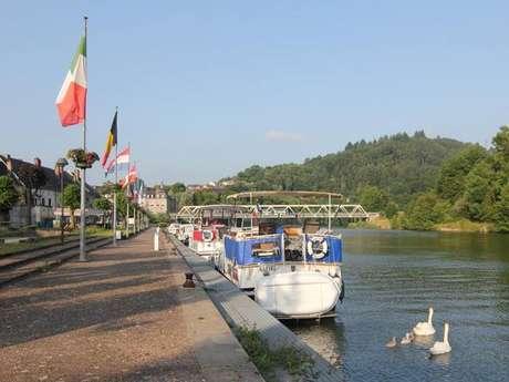 Halte fluviale (Capitainerie) de Fumay