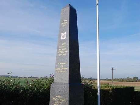 Monument américian du 369ème RI et du 15ème RI de couleur