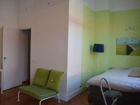 Ixelles Green, studio meublé
