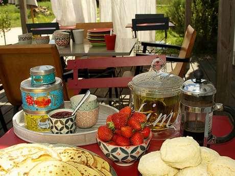 Salon de thé champêtre