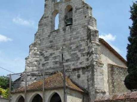 Eglise Saint-Julien à Goudourville