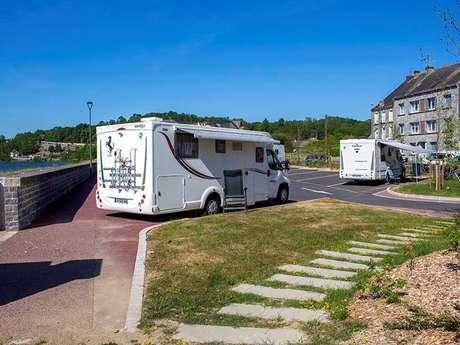 Aire de camping car - Givet