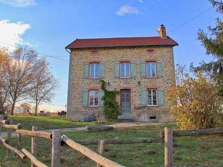 Location Gîtes de France - PEYRAT LA NONIERE - 6 personnes - Réf : 23G1195