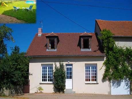 Location Gîtes de France - LEPAUD - 8 personnes - Réf : 23G1207