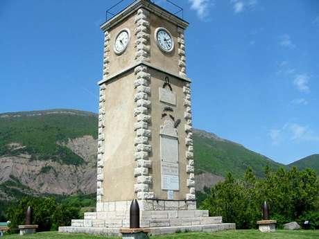 La Tour Horloge Aspres/Buëch