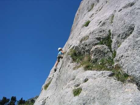 Site d'escalade de l'Aulp du Seuil