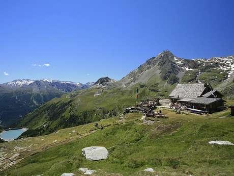 Itinéraire de randonnée : Les Barrages > Refuge de la Dent Parrachée