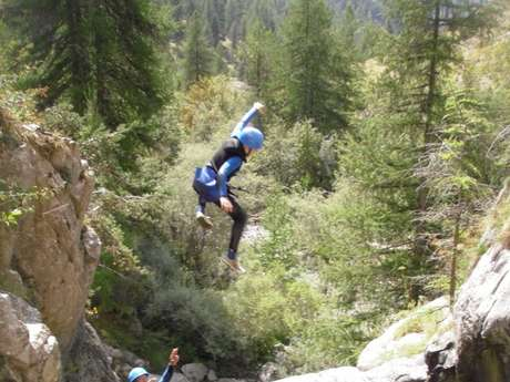 Canyoning initiation - Marmite du diable