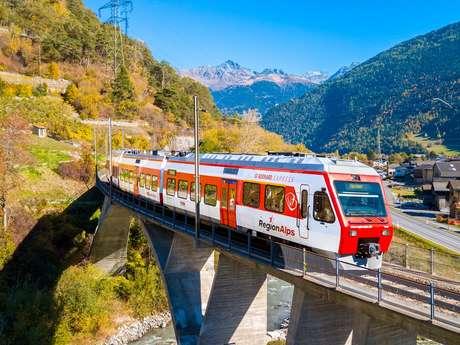 Le Châble - Sembrancher train