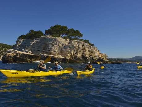 Escapade encadrée Kayak de mer avec ExpéNATURE