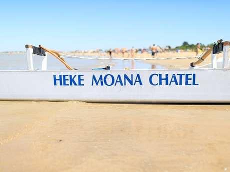 Pirogues polynésiennes, Heke Moana Châtel