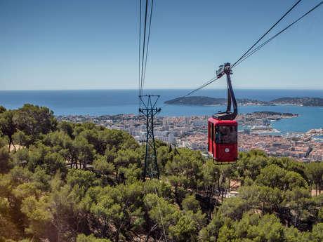 Mont Faron cable car round trip