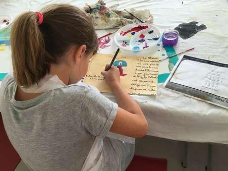 Atelier estival enfants - Souvenirs de vacances