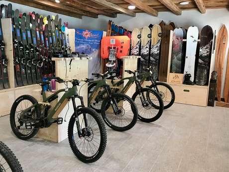 SnowLegend freeride shop