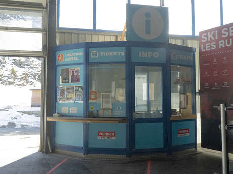 Caisses & Infopoint Les Ruinettes