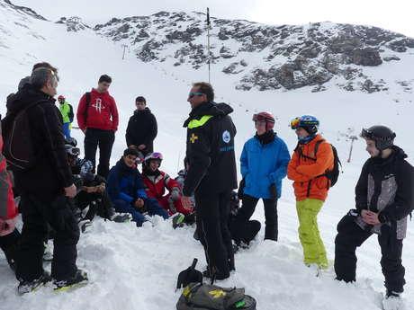 Backstage of ski resort - Technical snow making